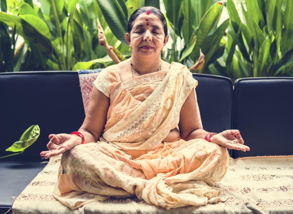 meditazione con incenso